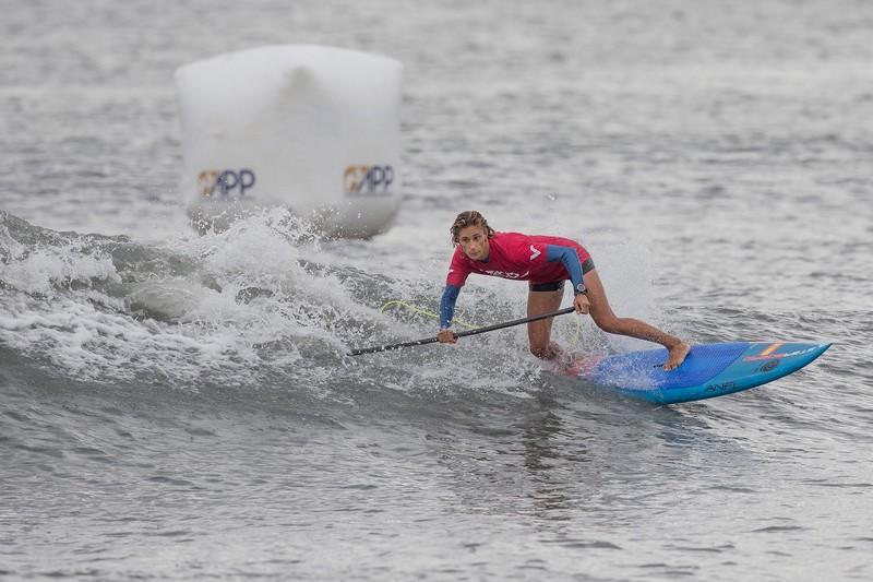 Iballa Moreno en action à Long Beach