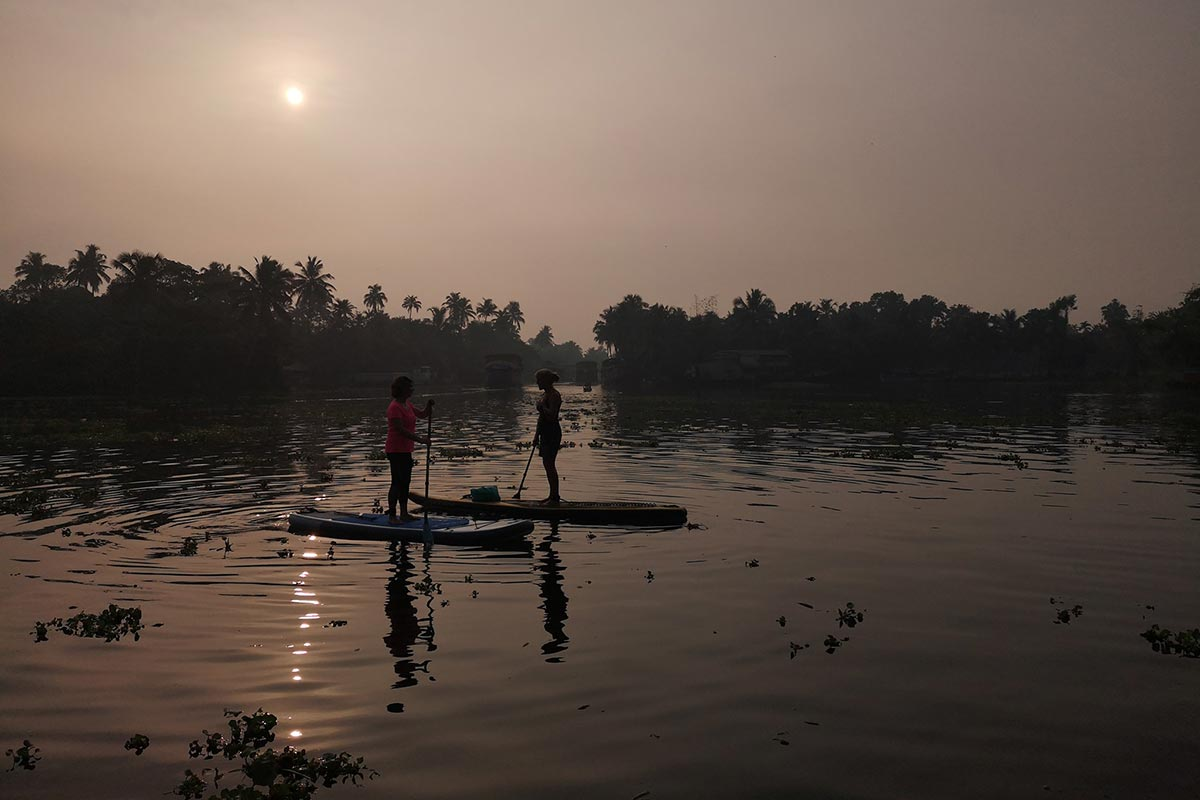 Un SUP trip en Inde