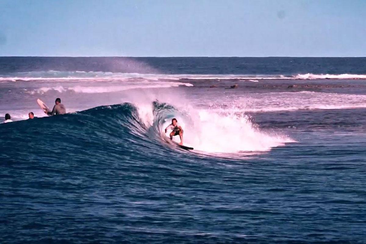 James Casey et Bert Burger aux Maldives