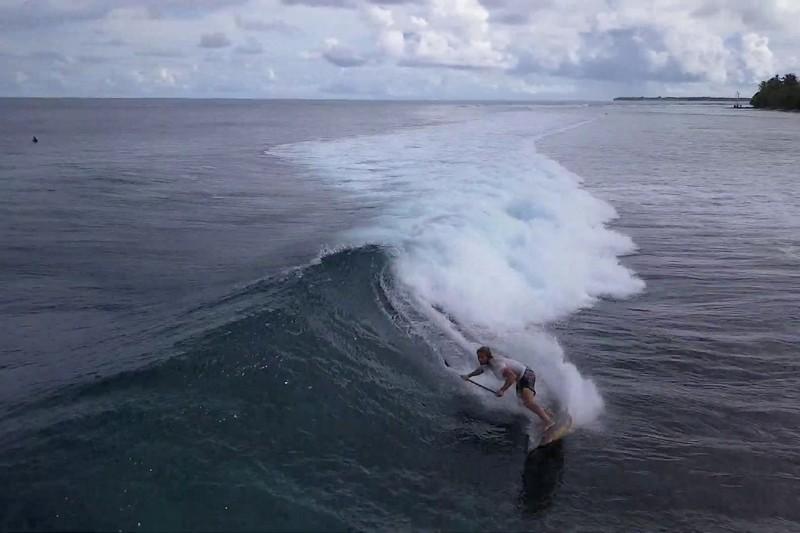 James Casey aux Maldives