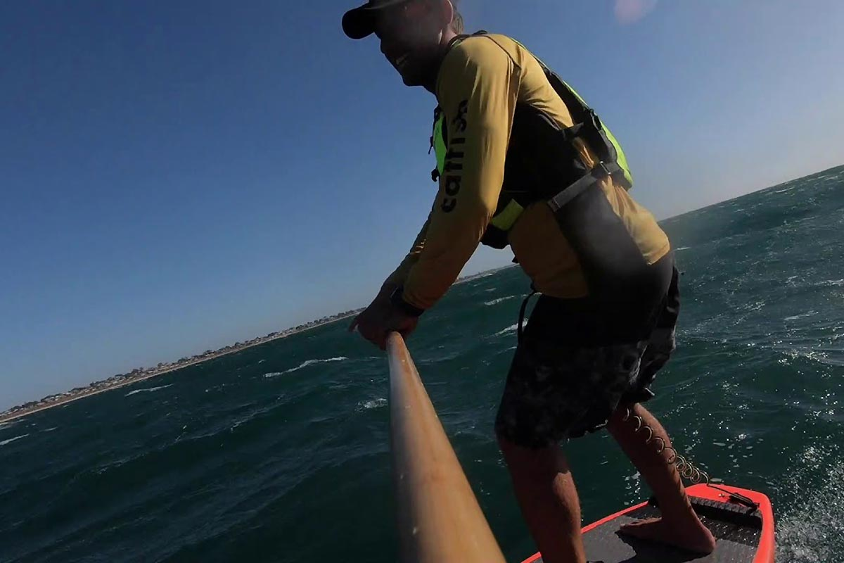 Un downwind XXL avec James Casey