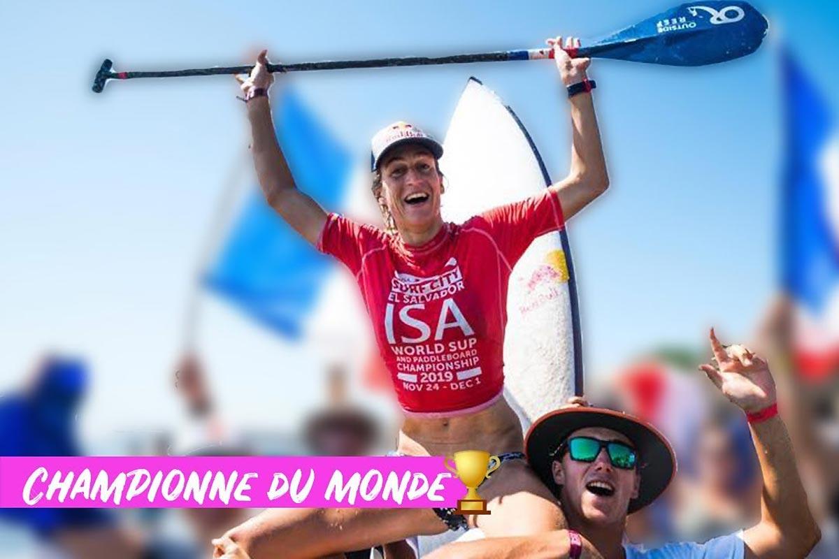 Le championnat du monde ISA avec Justine Dupont