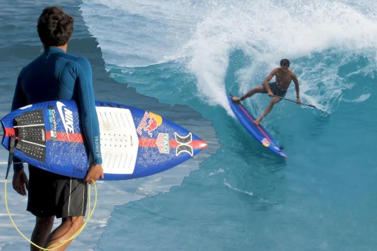 Kai Lenny dans ses oeuvres à Maui !