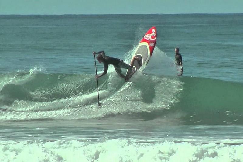Keahi de Aboitiz SUP Surfing 2011