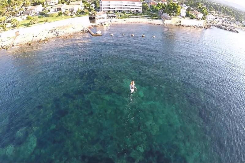 La Ciotat, du SUP et un drone