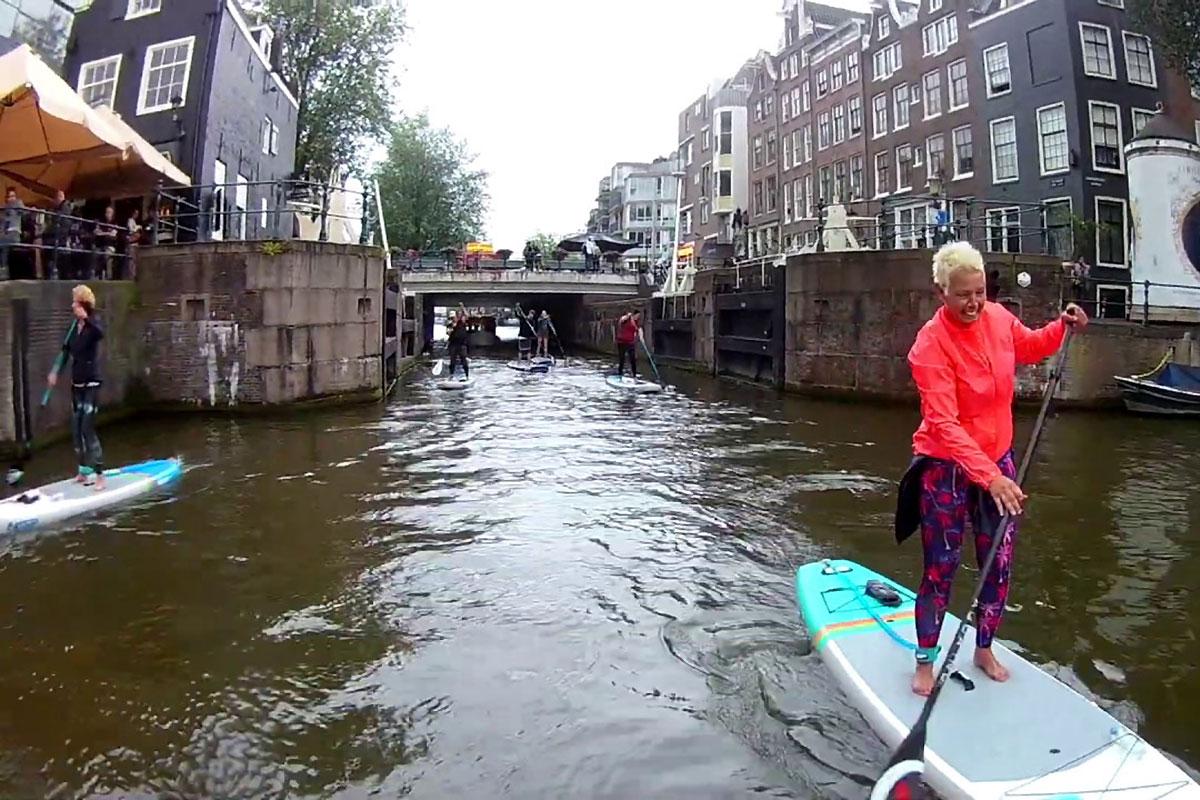 Une balade à Amsterdam avec Live Love SUP