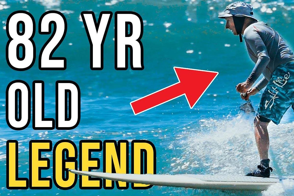 Mickey Munoz, 82 ans et toujours la forme !