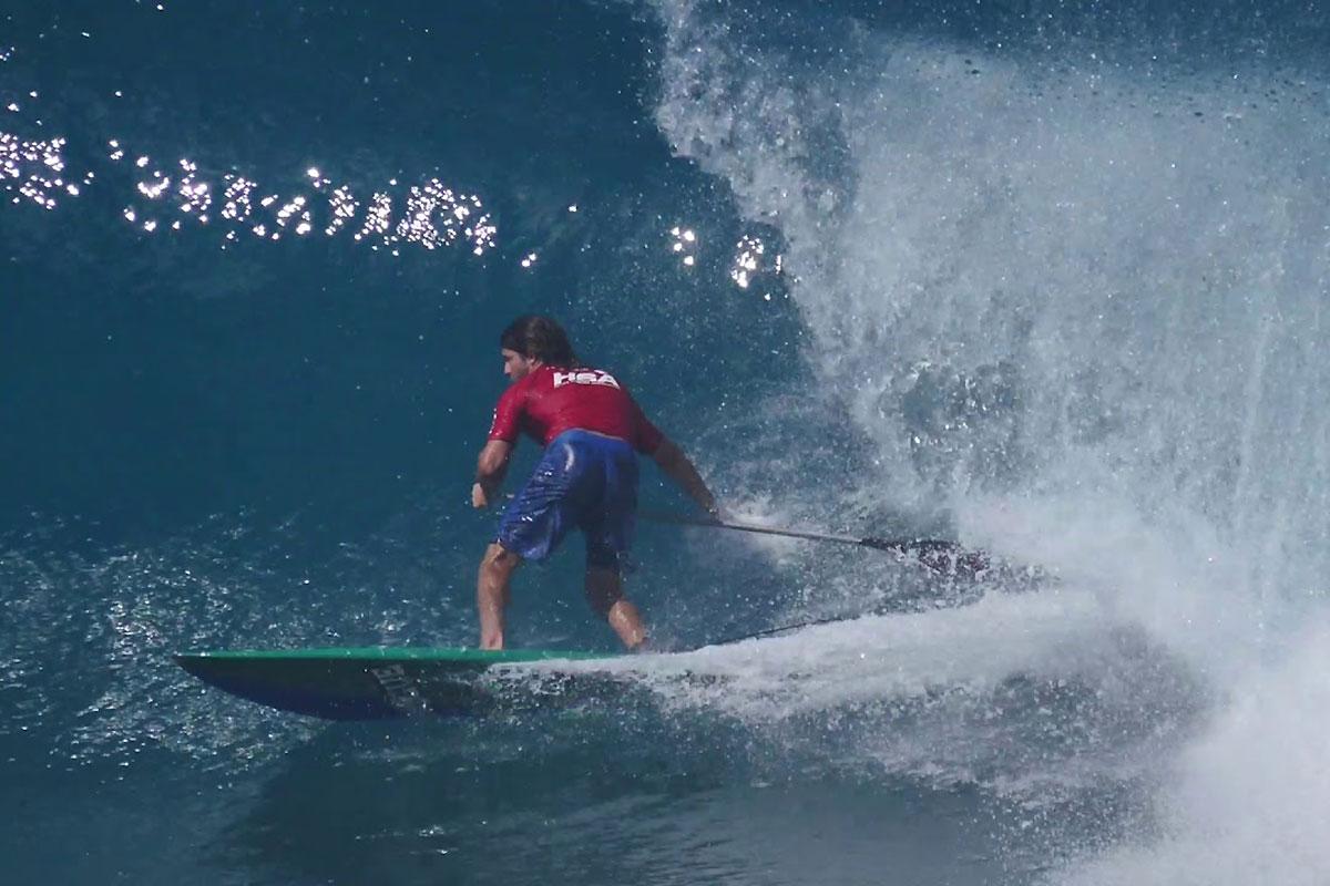 Mo Freitas en action à Oahu