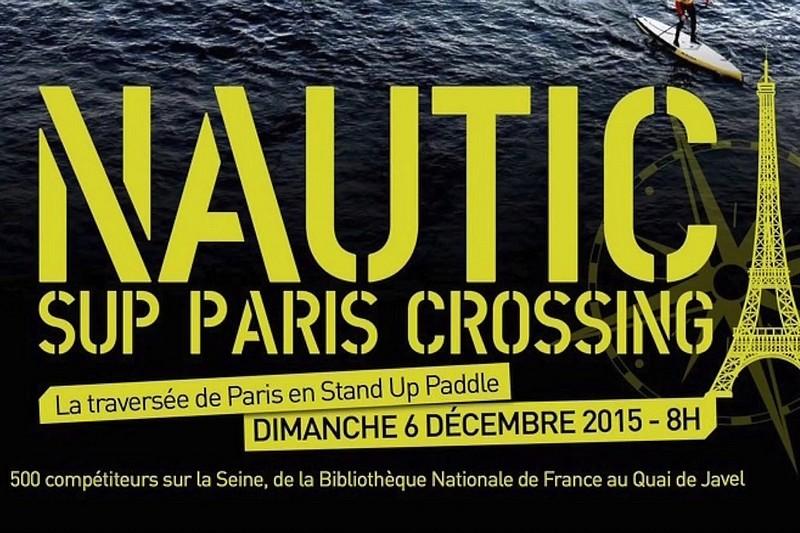 Nautic SUP Paris Crossing 2015