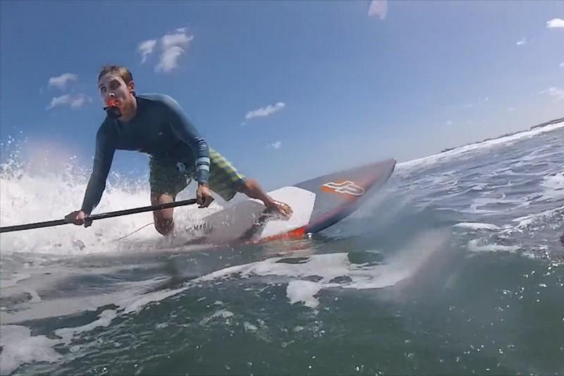 SUP surfing Fuerte