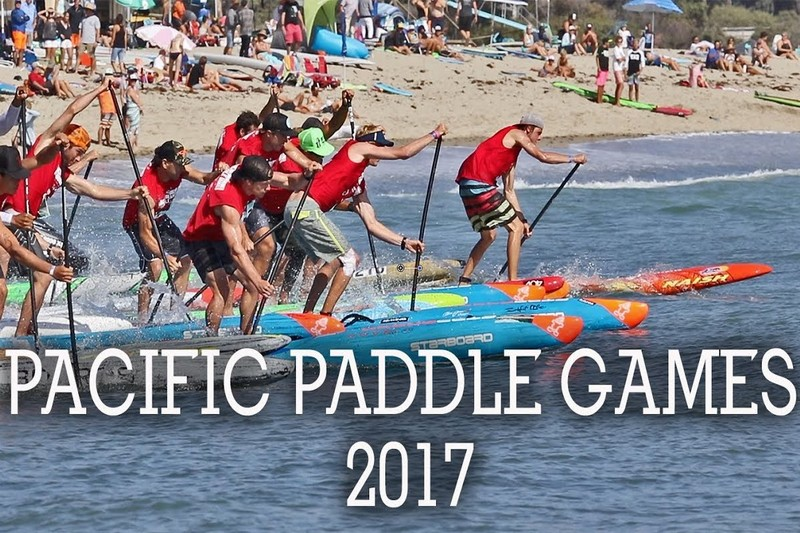 Les Pacific Paddle Games par Mike Jucker