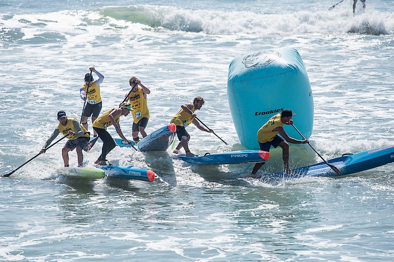 Pacific Paddle Games, la technical race hommes