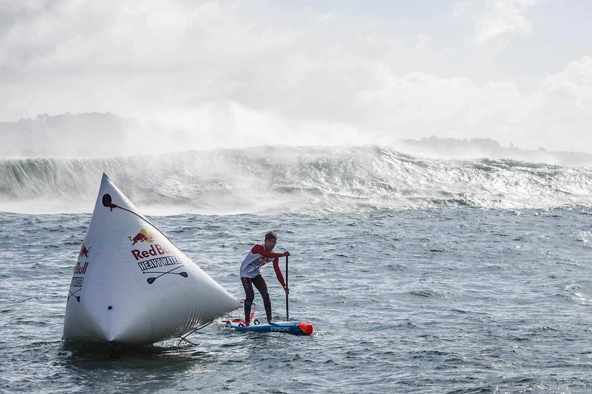 Le Red Bull Heavy Water dans les starting-blocks