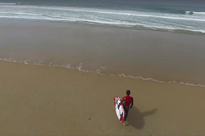 Du SUP et un drone dans le Morbihan