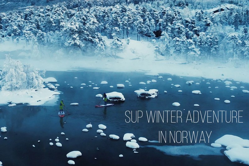 SUP Winter Adventure in Norway