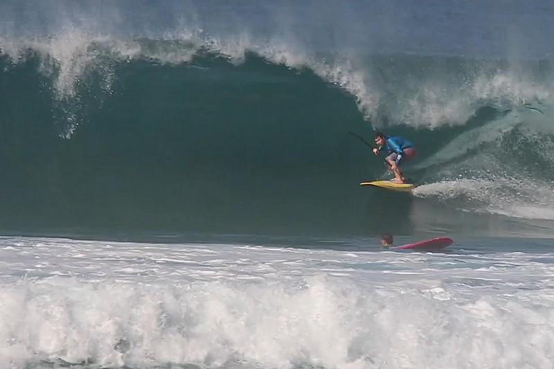 Du SUP longboard en Australie