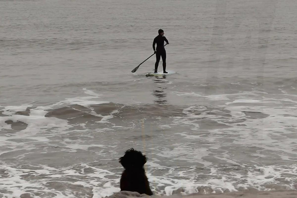De petites vagues et beaucoup de plaisir…