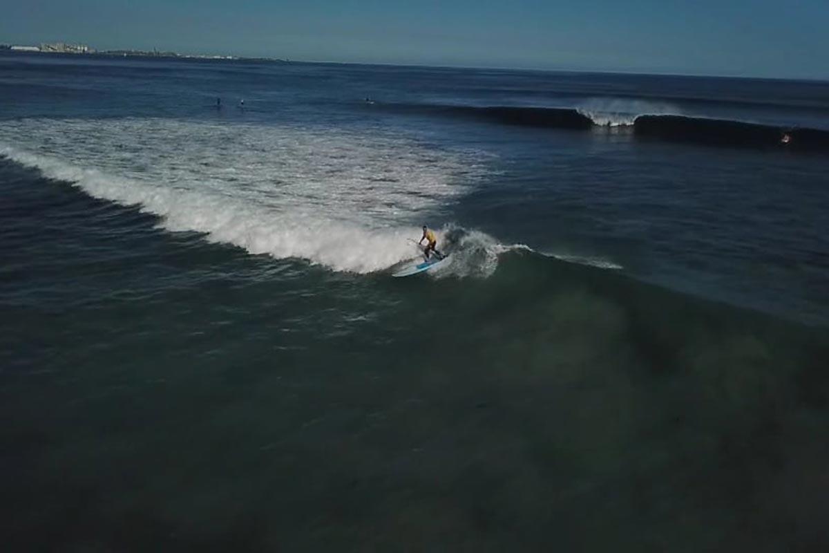 Du SUP surfing en Western Australia