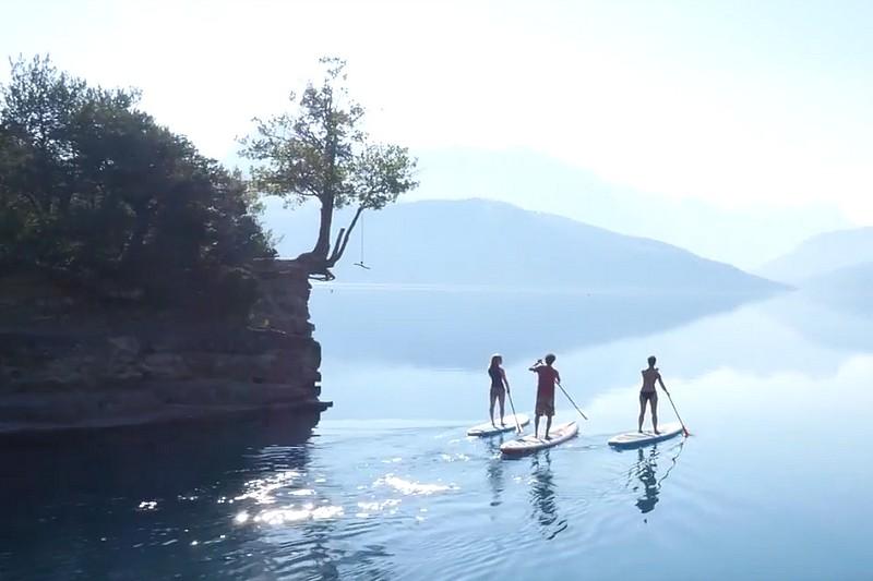 A la découverte du lac de Serre-Ponçon