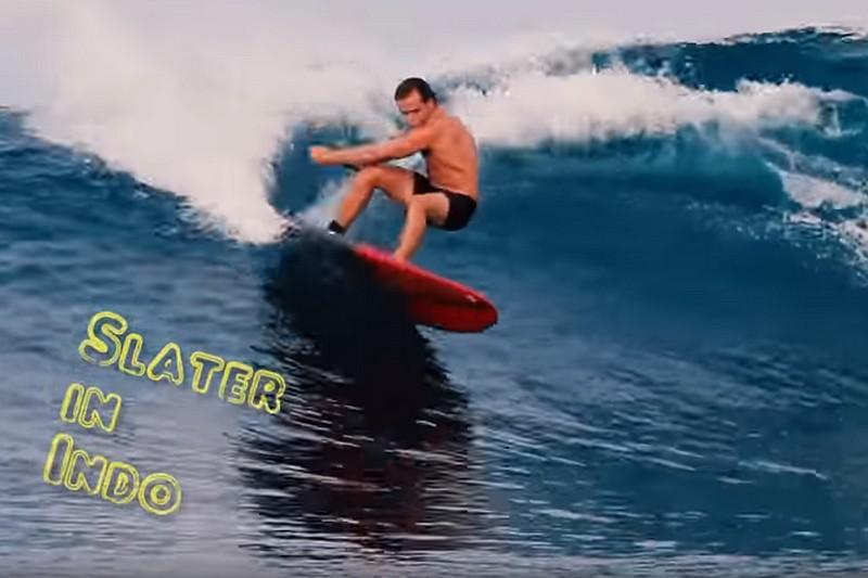 Slater Trout en Indonésie