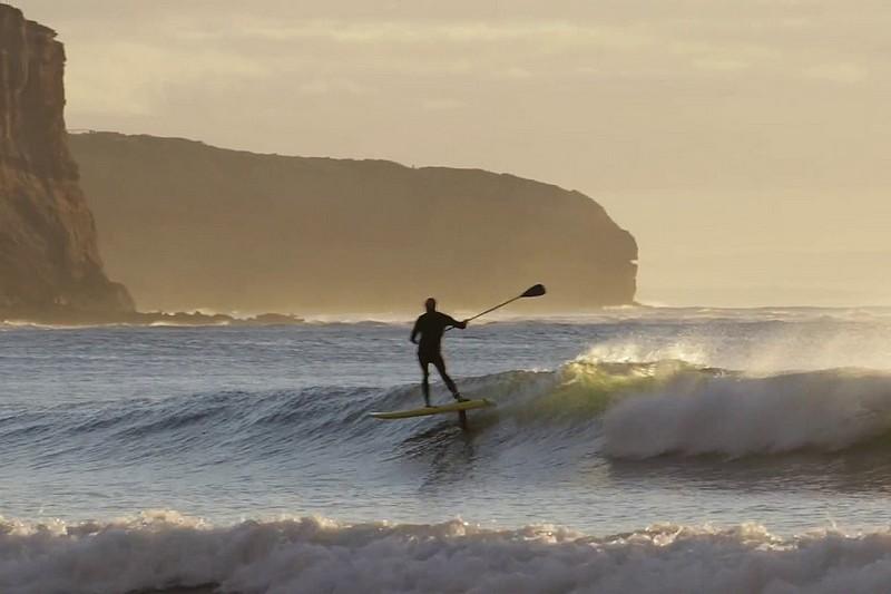 Du SUP foil en Australie