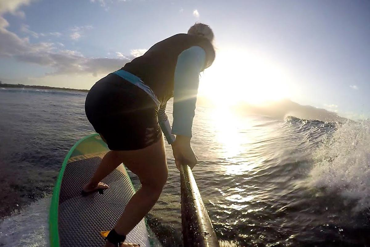 Une session sunset avec Suzie Cooney