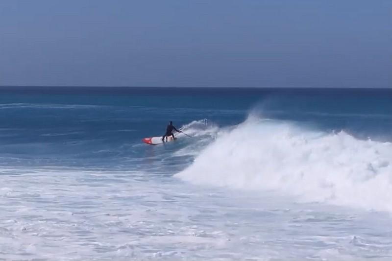 Tom Auber au Cap Vert