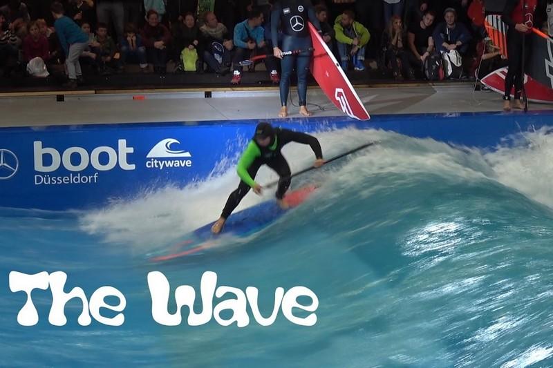 Un florilège de chutes sur The Wave