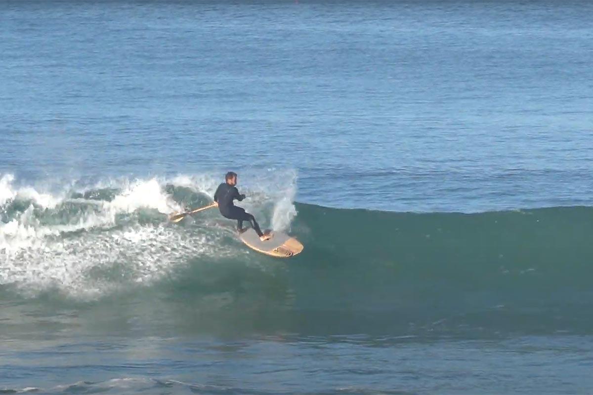 Une session matinale de novembre au Portugal