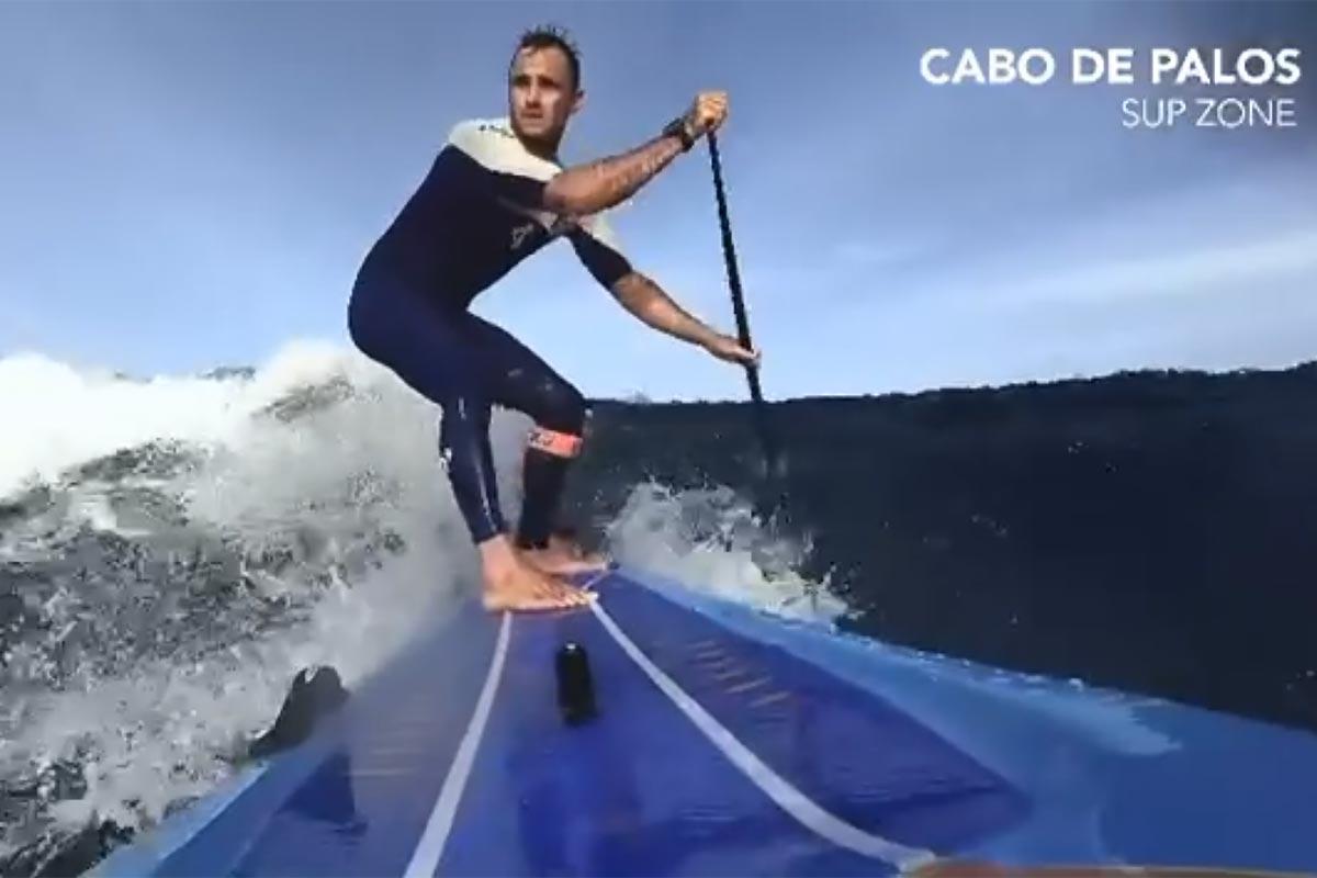 Titouan Puyo à l'entraînement à Cabos de Palos