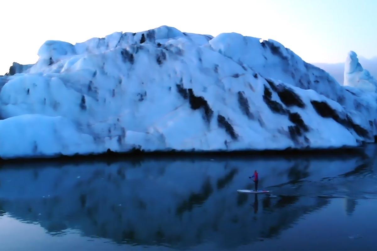 Trevor Tunnington en Islande