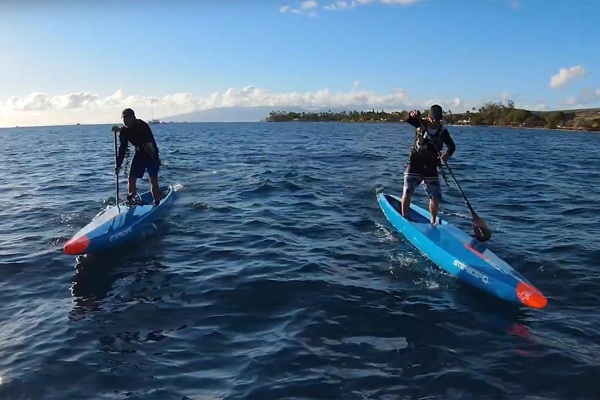 Le tour de l'île de Maui par Zane Schweitzer et Bart de Zwart