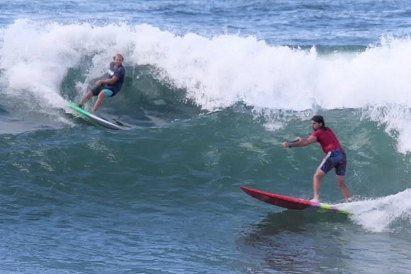 Longboard SUP vs short SUP