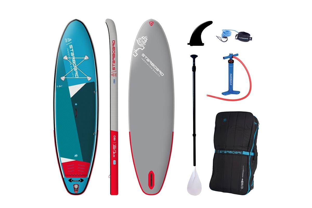 Test Pack SUP gonflable Starboard iGO Zen 10.8 2021
