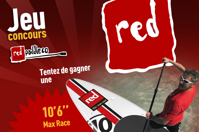 Jeu concours Red Paddle Co